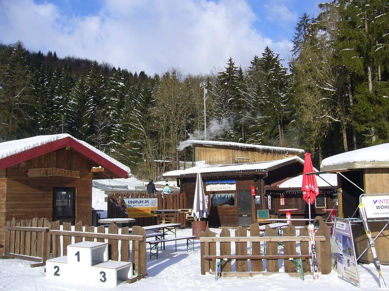 WFC Biergarten im Winter